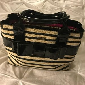 REDUCED! Kate Spade Quinn Villabella Striped Tote
